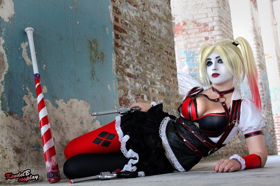Harley Quinn Arkham Knight Cosplay by KendelB