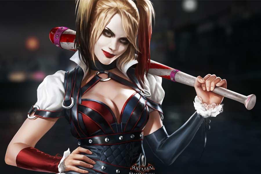Harley Quinn Arkham Knight Costume