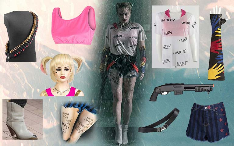Birds Of Prey Harley Quinn Commit A Crime Costume