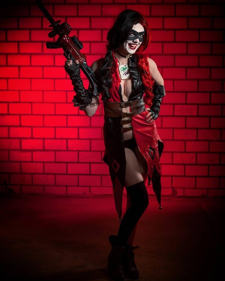 Harley Quinn Injustice God Among Us Cosplay by Lena