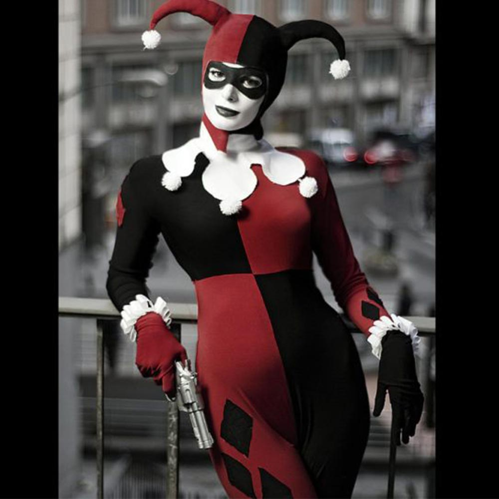 Harley Quinn Jester Cosplay By Thelema Therion Usa Jacket