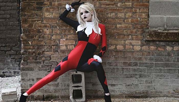 Harley Quinn Jester Costume
