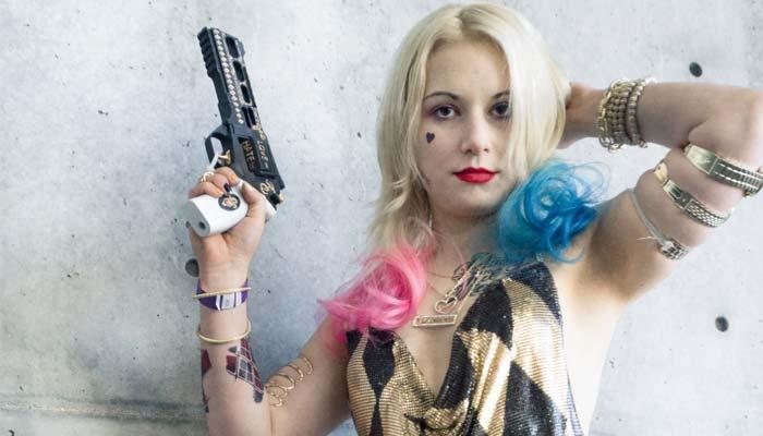 Harley Quinn Suicide Squad Club Costume