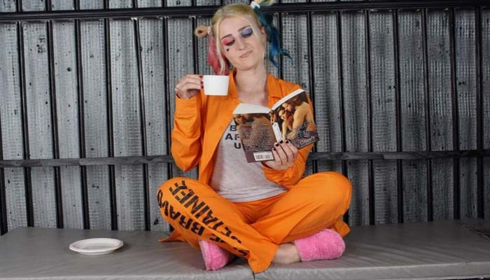 Harley Quinn Suicide Squad Jail Costume