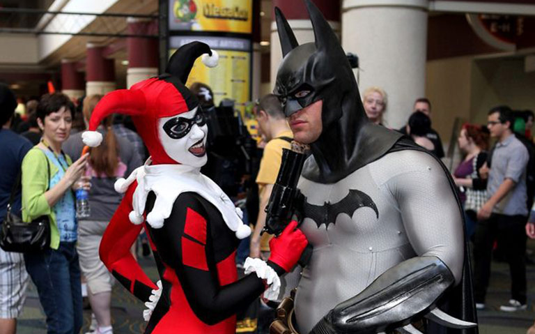 Harley Quinn and Batman Couple Costume