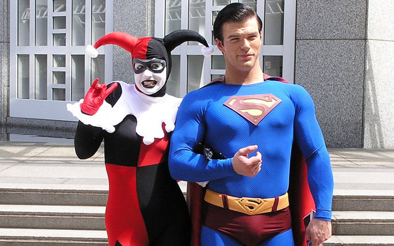 Harley Quinn and Superman Couple Costume