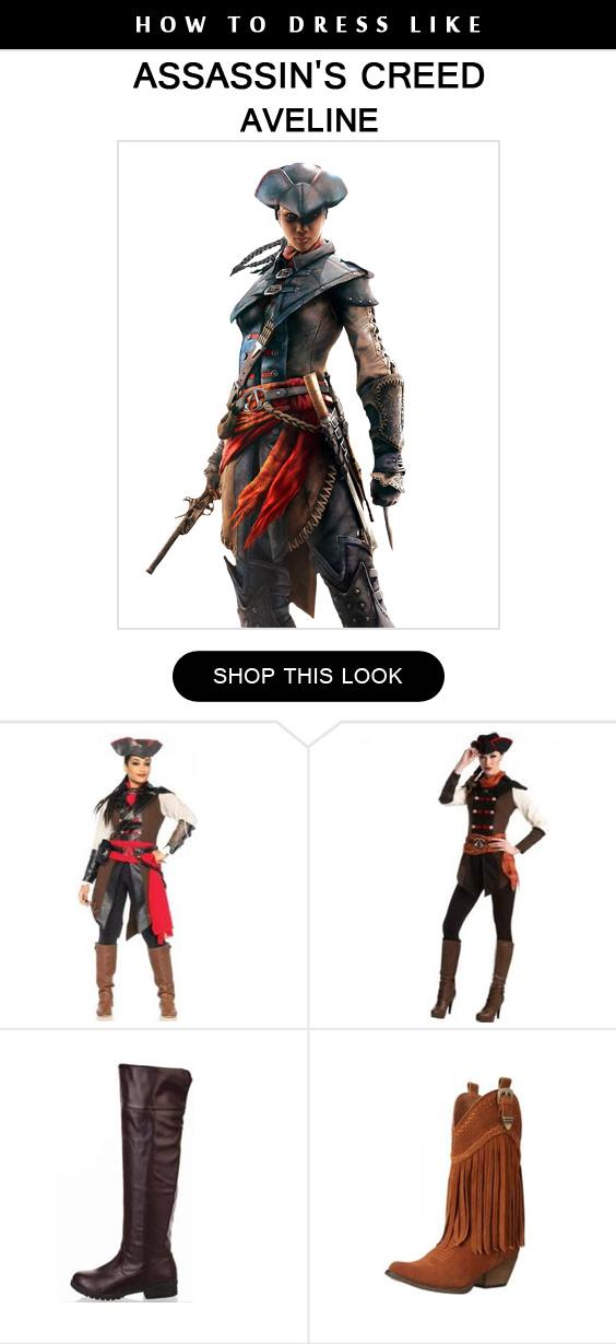 Aveline Costume Infographic