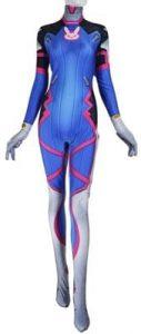 D. Va Suit Costume