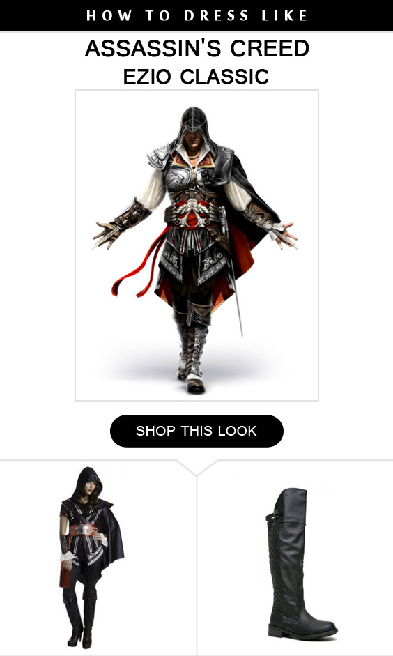 The Biggest Assassins Creed Costume Guide For Men And Women Ever