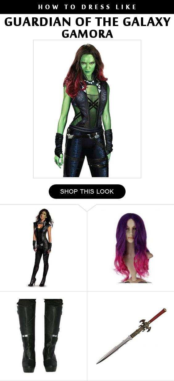 Gamora Costume Infographic