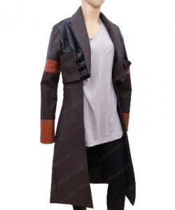 Zoe Saldana Coat