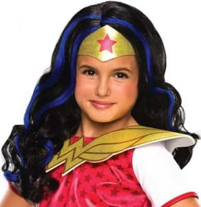 Wonder Woman Classic Child Wig