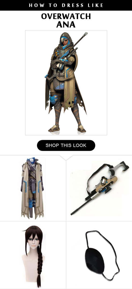 5 Simple Steps To Create Your Overwatch Ana Costume Ready