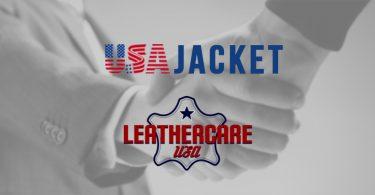handshake between usajacket and leathercareusa