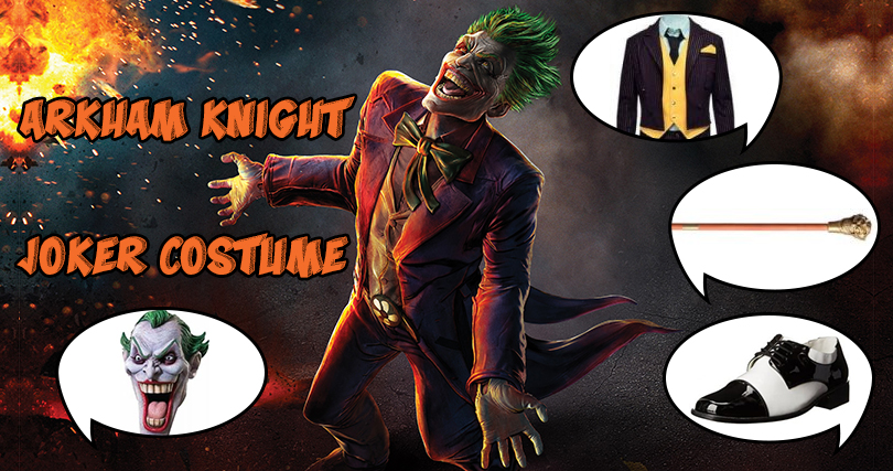 Arkham Knight Joker Costume