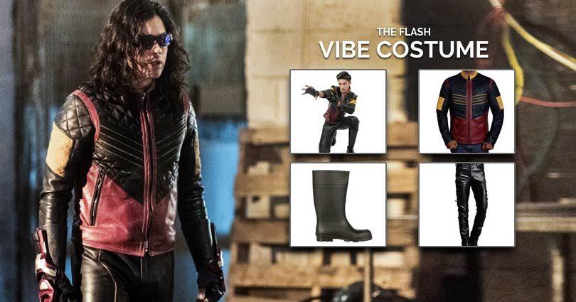 The Flash Cisco Ramon Vibe Costume