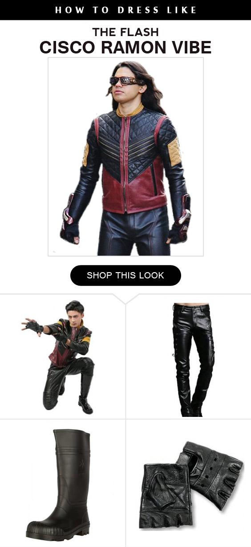 Cisco Ramon Vibe Costume Infographic