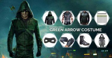 Oliver Queen Green Arrow Costume