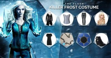 Caitlin Snow Killer Frost Costume