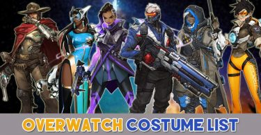 Overwatch Costume List