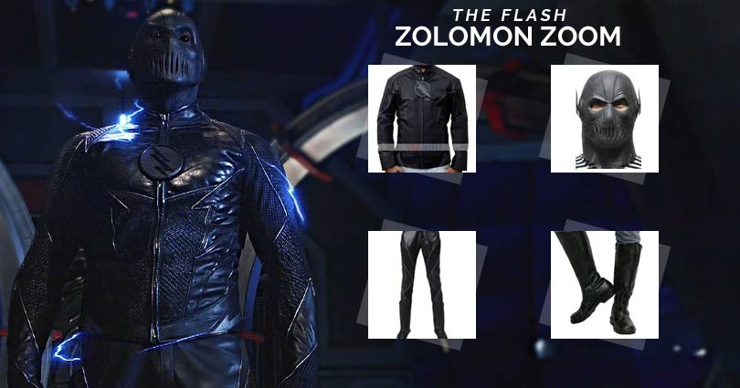 Hunter Zolomon Zoom Costume