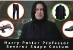 Harry Potter Professor Severus Snape Costume