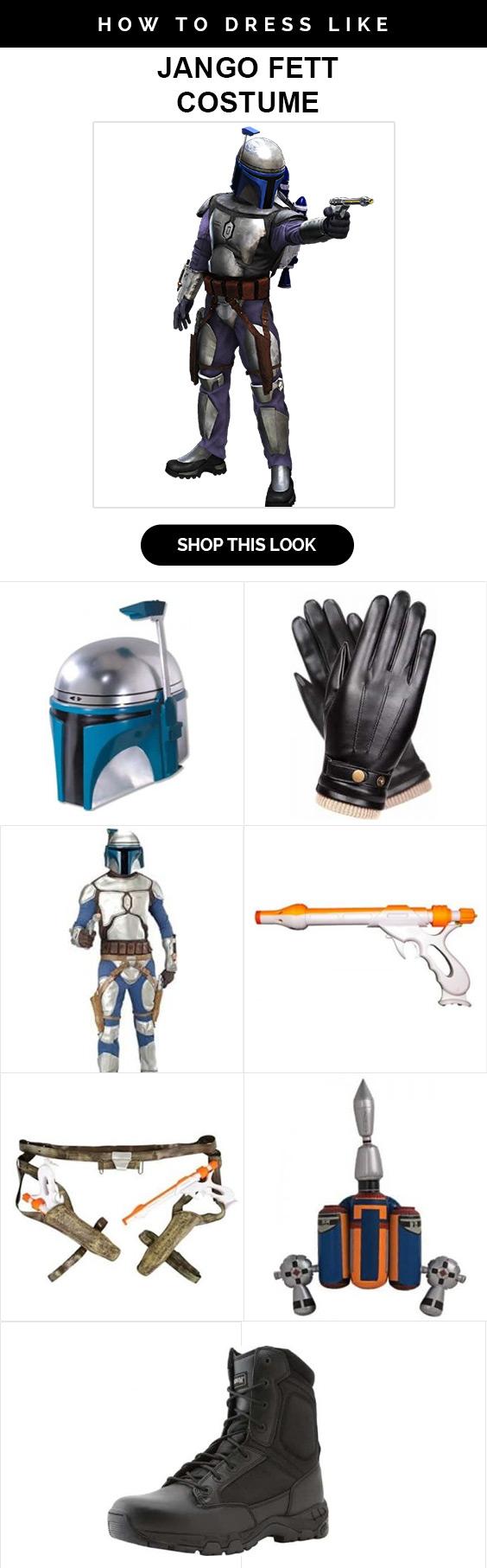 Star Wars Jango Fett Costume  sc 1 st  USA Jacket & Star Wars Jango Fett Costume Lets You Dwell in Target Kill Zones