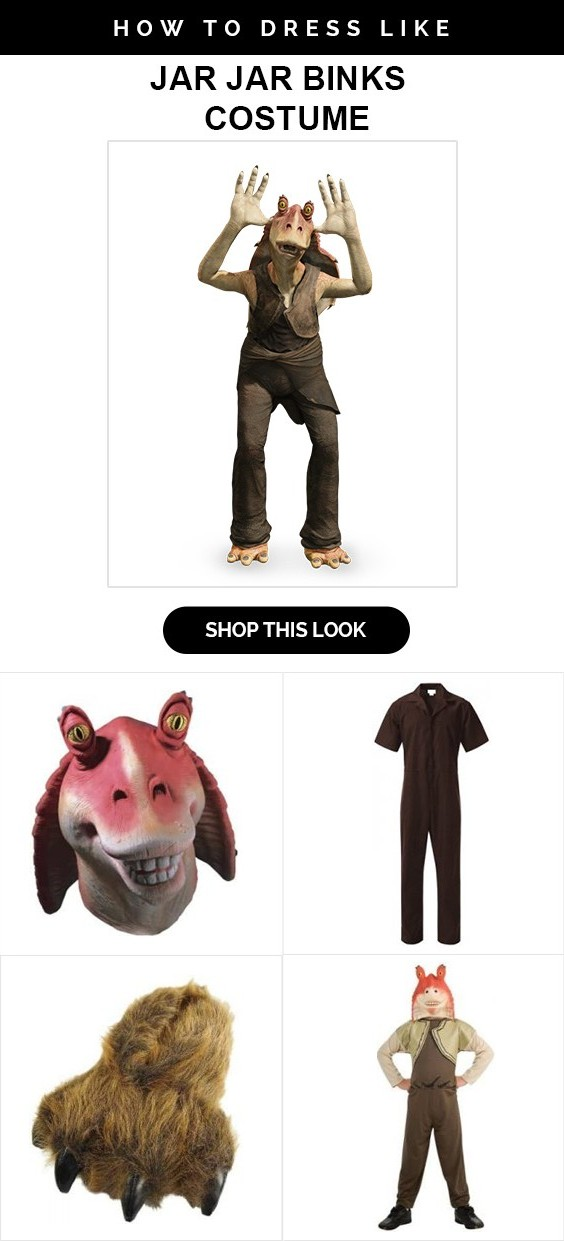 Star Wars Jar Jar Binks Costume  sc 1 st  USA Jacket & Fascinating Guide to Star Wars Jar Jar Binks Costume - USA Jacket