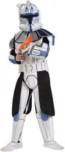 Star Wars Clone Trooper Leader Captain Rex Kids Costume