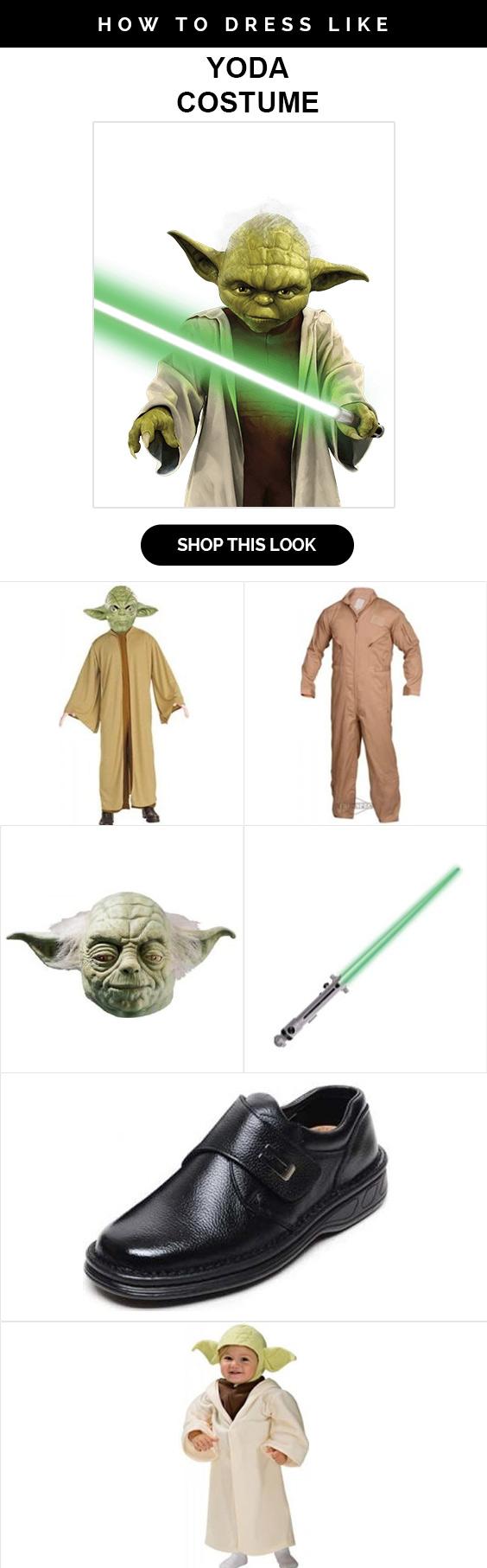 Yoda Star wars Costume