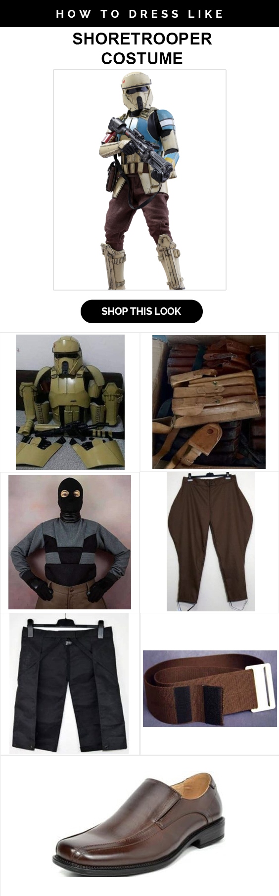 star wars Shoretrooper costume