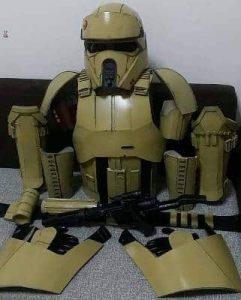 Star Wars Rogue One Shoretrooper Armor Set