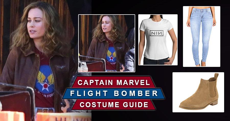 Top 5 Carol Danvers Captain Marvel Costume Of 2019 Captain marvel (brie larson) is the superhero identity of carol danvers, a former u.s. usa jacket