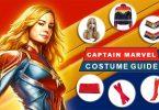 Captain Marvel Costume Guide