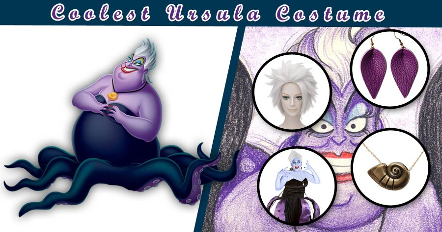 The Little Mermaid Diy Ursula Costume Guide