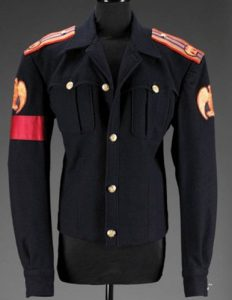 Michael Jackson Black Military Dress Jacket