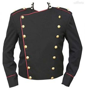 Michael Jackson Bucharest Military Jacket
