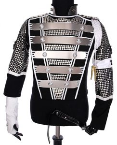 Michael Jackson Teaser Military Jacket