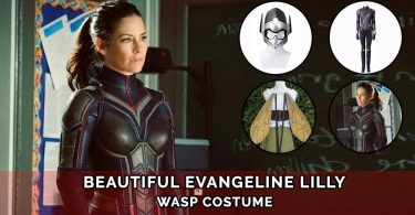 Hope Van Dyne Antman and The Wasp Costume