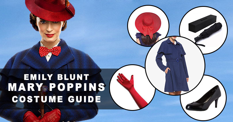 Be The Beautiful Emily Blunt By Attiring Mary Poppins Costume