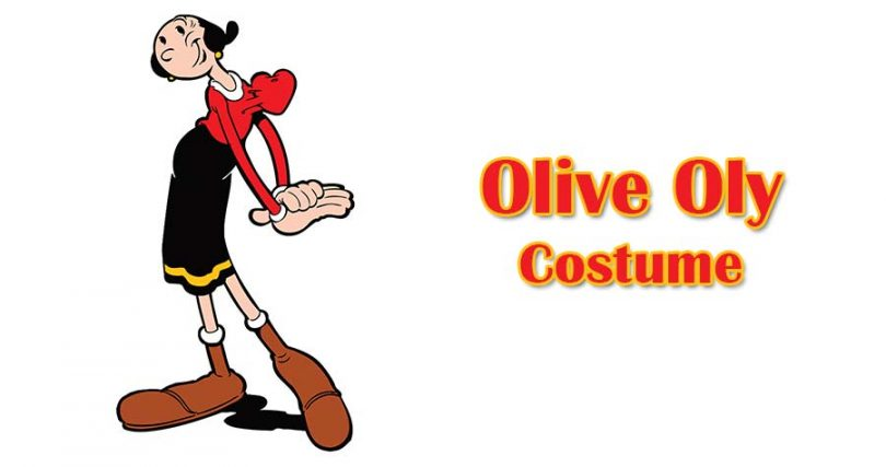 Be A Charming Personality By Wearing Olive Oyl Costume