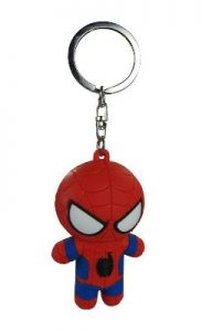 Tom Holland Red and Blue Keychain