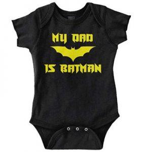 Bruce Wayne Baby Romper