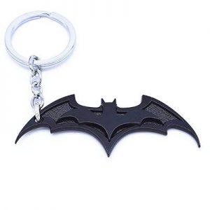 Bruce Wayne Bat Symbol Keychain