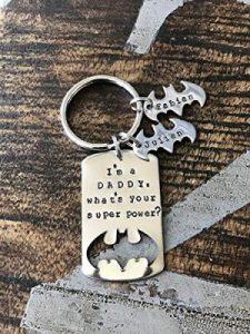 Bruce Wayne Keychain For Father