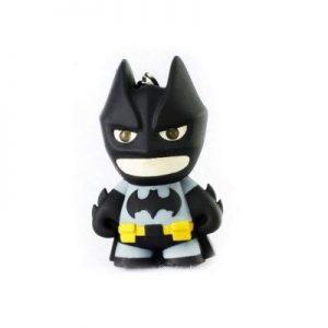 Bruce Wayne Keychain with Flashlight