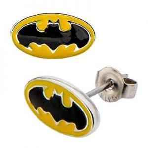Bruce Wayne Logo Stud Earrings