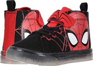 Tom Holland Black and Red Shoes