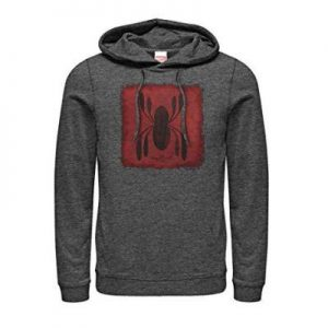 Peter Parker Homecoming Logo Patch Hoodie