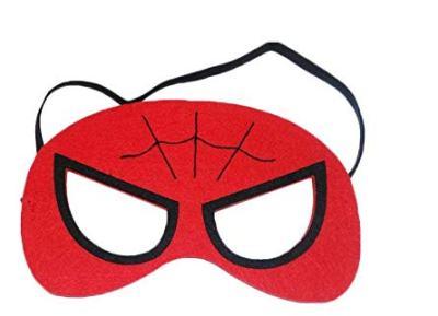 Spider Man Marvel Comic Cartoon Kids Costume Felt Mask Usa Jacket